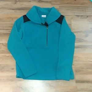 NWOT Columbia Pullover SZ L
